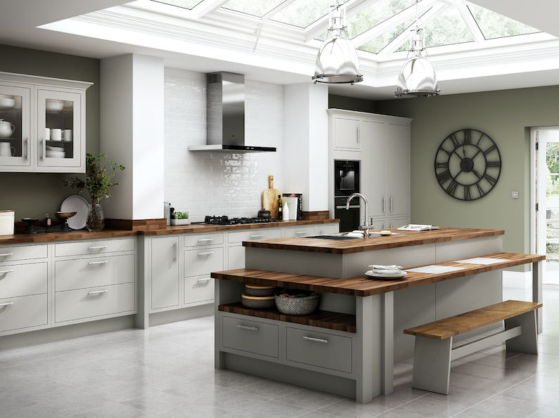 Chelsea Matt Dove Grey Kitchen From Benchmarx Kitchens Makes This Yearu0027s House  Beautiful Award Shortlist   The KBzine