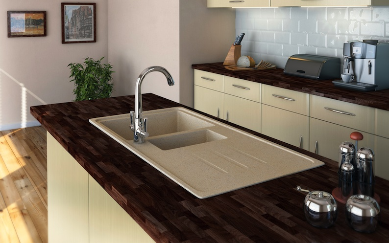 New value granite sink range from Carron Phoenix makes its debut ...
