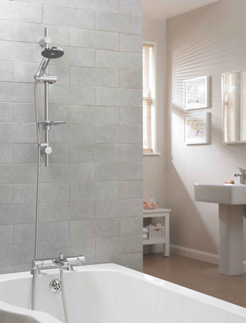 Deva Introduces Award Winning Satinjet To Bestselling Bath Shower Mixer