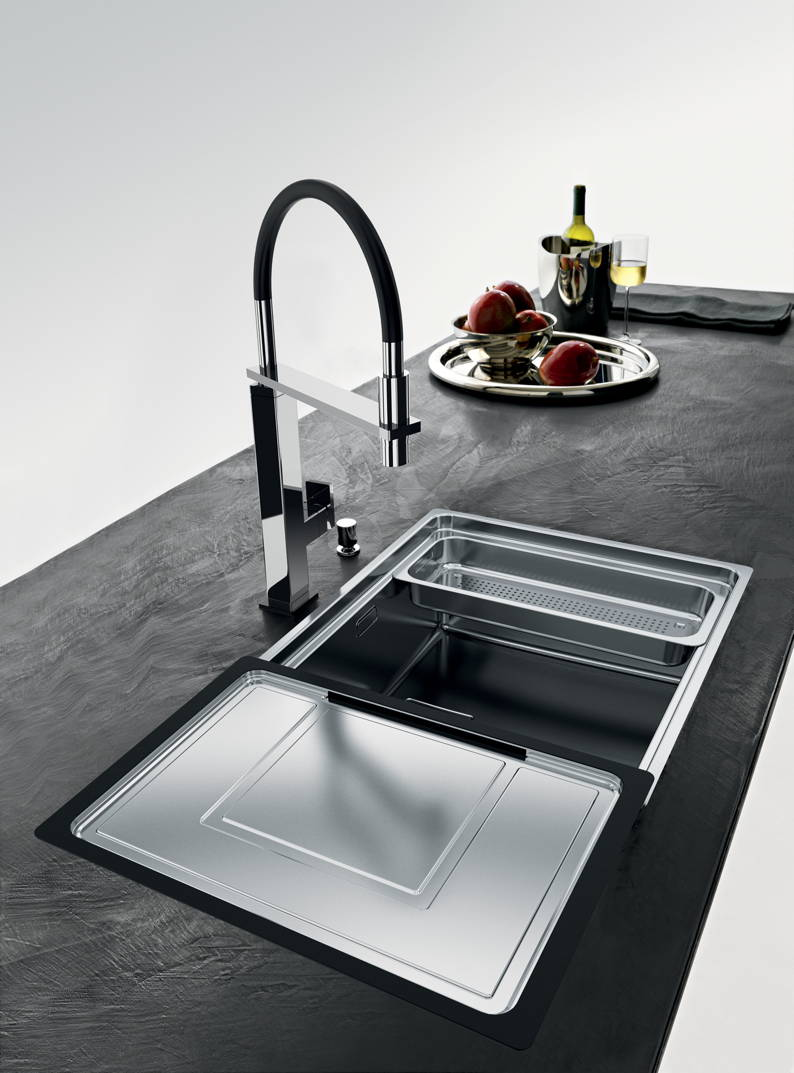 Franke Sink Cover : removable drainer in the kitchen, the new Mobile Drainer from Franke ...