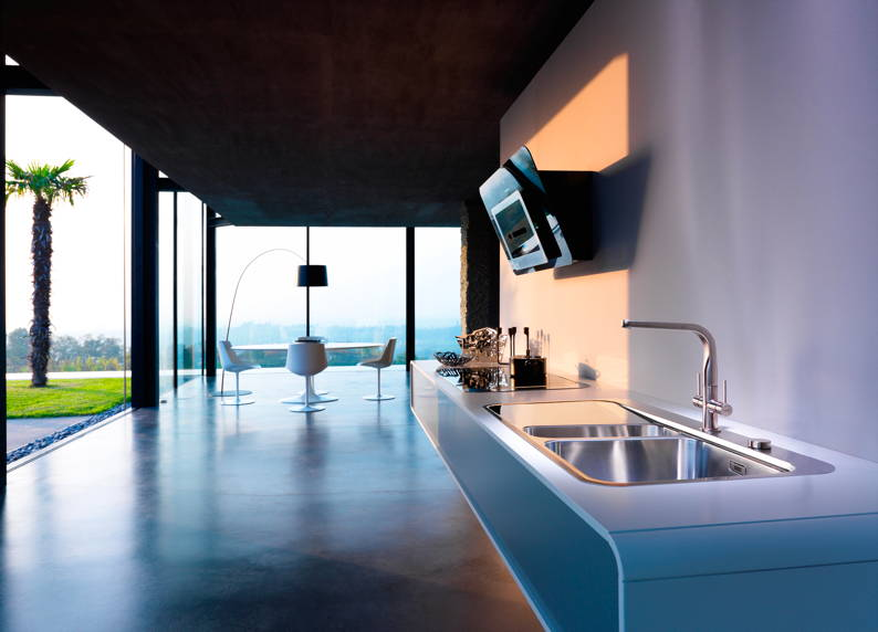 at the top-end of Frankes extensive sink offer, the new Sinos sink ...