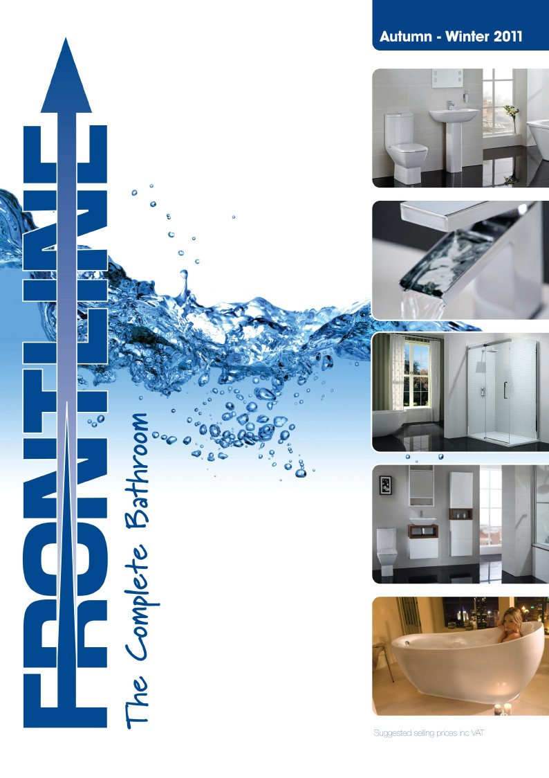 Frontline bathrooms issues extensive bathroom guide the for Bathroom design catalogue