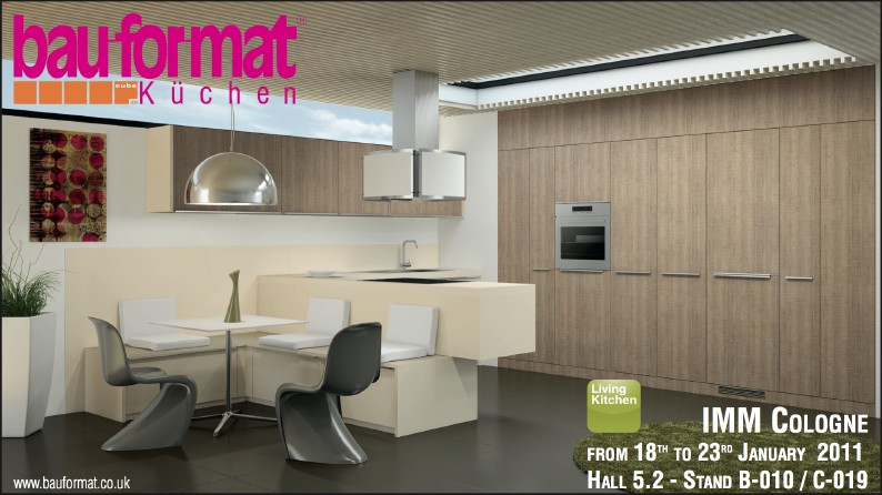 bauformat to launch new kitchen ranges at imm koln the kbzine. Black Bedroom Furniture Sets. Home Design Ideas