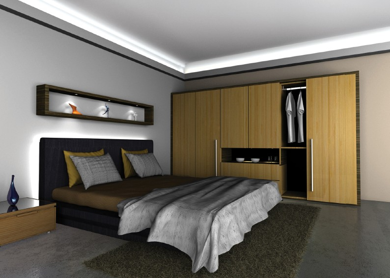 gallery for led lights for bedroom