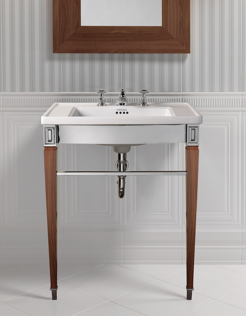New classically elegant basin stands from Imperial Bathrooms - The ... for Bathroom Basin Stands  117dqh