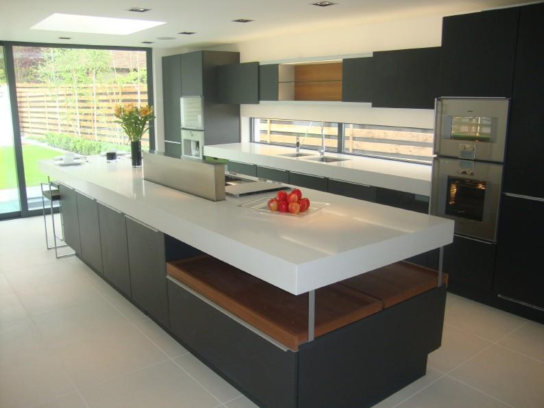 caesarstone the ideal choice for poggenpohl the kbzine. Black Bedroom Furniture Sets. Home Design Ideas