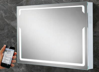 Bluetooth In The Bathroom The Latest 39 Smart Mirrors 39 From HiB The