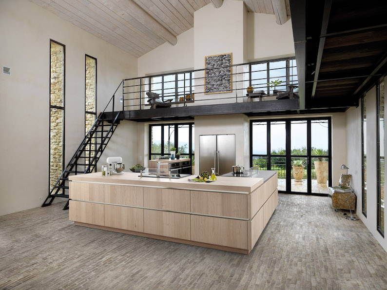 Schmidt kitchens bring out natural beauty of wood with - Schmidt kitchens ...