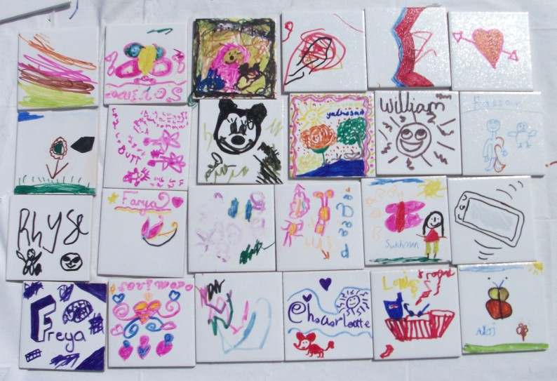 Tile decorating a real hit at Play Day - The KBzine