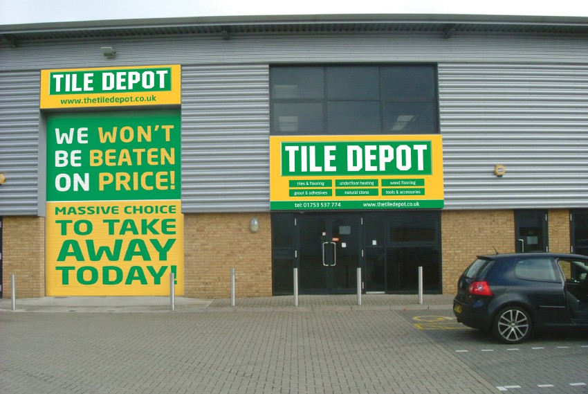 Tile Depot store and head office to move to trading estate - The KBzine